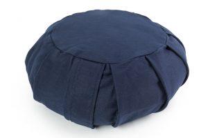Apvali grikių lukštų pagalvėlė (pufas)_Round zafu pillow