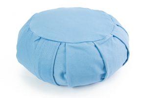Žydra pagalvė_Light blue pillow