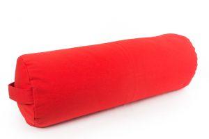 Raudona grikių lukštų pagalvė Red Buckwheat hulls pillow
