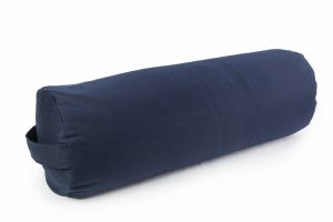 Tamsiai mėlyna jogospagalvėlė_Dark blue yoga pillow