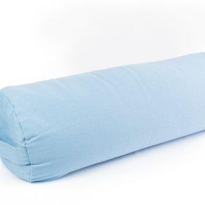 Žydra jogos pagalvėlė_Light blue yoga pillow